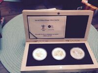 Special Edition Olympic Silver Coin set