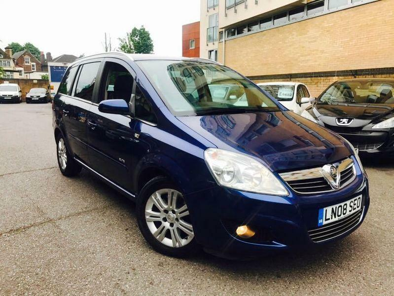 vauxhall zafira elite 1 9cdti 120ps in stratford london gumtree. Black Bedroom Furniture Sets. Home Design Ideas