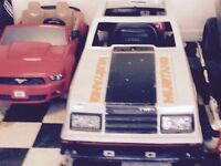 1979 Ford Mustang pace car go cart