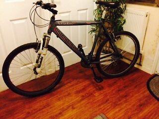 Aluminium mountain bike in excellent condition