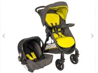Graco stroller with car seat and rain shield ( NEW IN BOX)