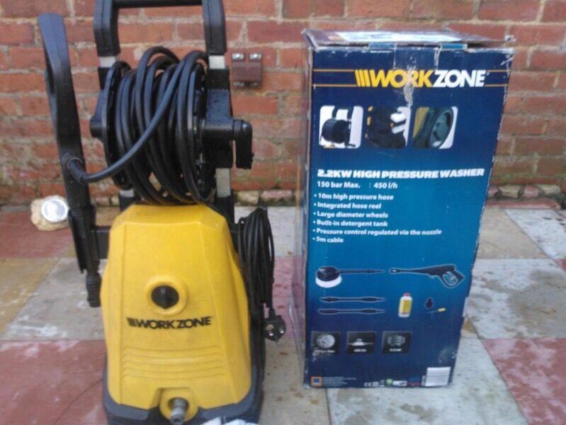 Work Zone Pressure Washer In Haxby North Yorkshire