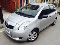 2007 TOYOTA YARIS T2 998 CC 1 OWNER 9 STMP F/S/H/ LOW MILEAGE 69K VGC