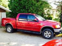 F150 2002 4 door 4x4 for trade