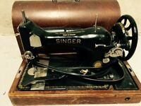 Antique singer sewing machine $70 obo