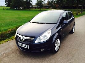 Vauxhall Corsa design 1.3 cdti six speed low miles diesel