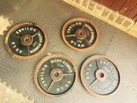 Body power 25kg plates!!!!