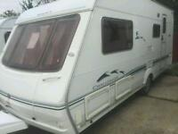 Swift challenger 520se 4 berth 2005 touring caravan