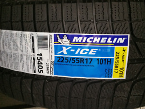 225 50 17 Michelin x-ice xi3