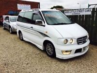 Nissan largo highway star 8 seater automatic with a bed 1997 1 year mot