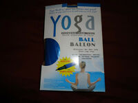 Yoga Exercise Ball- Standard size with PUMP/ BOX
