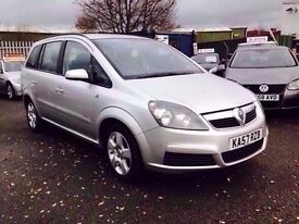 VAUXHALL ZAFIRA CLUB 1.9 CDTI 120 E4 / 1 OWNER / FULL SERVICE HISTORY / 7 SEATER