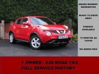 2014 Nissan Juke Visia 1.5 DCi, DIESEL ,MANUAL, RED, ALLOYS,