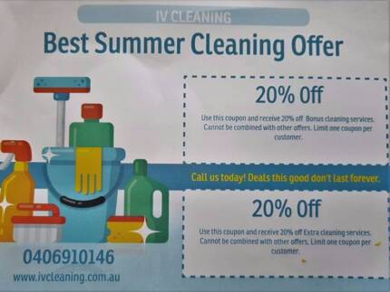 Cleaning services in Albert Park