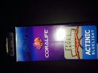 Coralife actinic blue light for fish tank