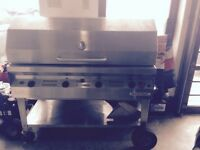 Bbq silver giant USED