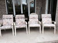 Patio Chairs with cushions included