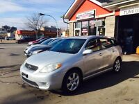 2005 Toyota Matrix with safety and E Test