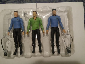 RARE 2003 STAR TREK ORIGINAL SERIES ACTION FIGURES
