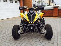 YAMAHA RAPTOR 700 60TH ANNIVERSARY 65 REG ROAD LEGAL QUAD BIKE