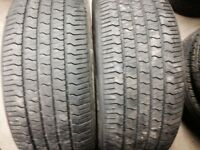 Pair Goodyear eagle 275/45/20 all season