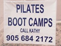 Join group fitness classes - Pilates & or Bootcamp