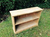 Solid Vintage Pine Bookcase