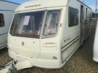 Avondale eagle fixed bed touring caravan