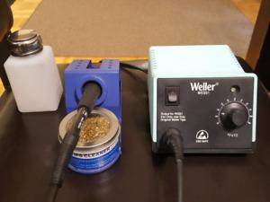 Weller WES51-VP Weller Analog Soldering Station used