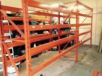 Industrial racking storeage / pallet racking