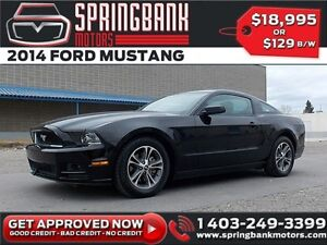 2014 Ford Mustang Premium $119B/W INSTANT APPROVAL, DRIVE HOME T