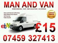 CHEAP MAN AND VAN REMOVALS from £15 HOUSE FLAT REMOVAL eBay COLLECTION DELIVERY BED SOFA COURIER UK