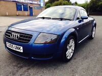 2005 Audi TT 1.8 T Coupe 3dr Petrol Manual (194 g/km, 180 bhp) Swap P.x Welcome