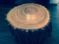 Stump Coffee End Table