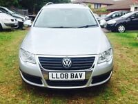 VOLKSWAGEN PASSAT ESTATE 2.0 TDI AUTOMATIC ONE OWNER LOW MILES MINT CONDITION £2699 ONO