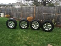 Tires and rims p275 60R20