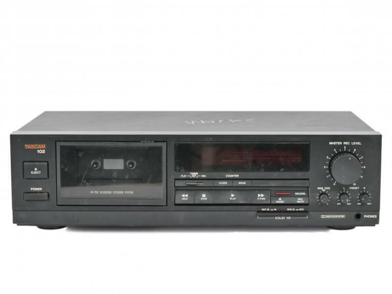 Vintage Tascam 102 Professional Cassette Recorder/Player
