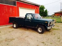 1982 Ford F-150 4X4 Project Truck