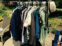 New and lightly used clothes