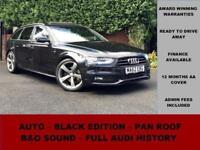 2012 62 AUDI A4 2.0 AVANT TDI S LINE BLACK EDITION 5D AUTO 174 BHP DIESEL