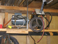 1hp Westinghouse AC Motor with Compressor