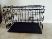 Dog training cage size small