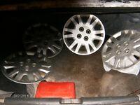 4 cap de roue Honda 15 pouces 4 trous