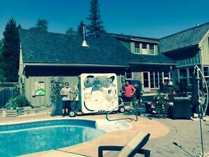 Best hot tub movers in the city. Kitchener / Waterloo Kitchener Area image 1