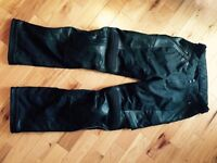 New Shift motorcycle leather pants