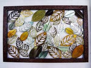 Wall-Hanging-AUTUMN-LEAF-Decorative Multi Coloured Sculpture Berwick Casey Area Preview