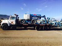Accident towing remorquage transports