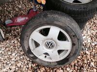 Volkswagen Rims 195/65/15 91H