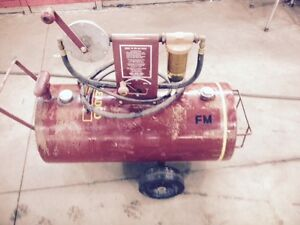 fuel transfer tank with pump and filter