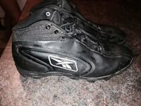 Size 10-1/2 (or 10.5) football cleats